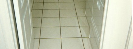 Laundry Room Floor Before