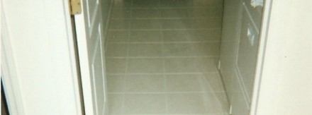 Laundry Room Floor After