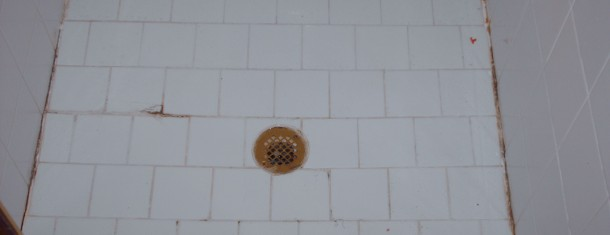 Carolina Grout Works White Tile Shower Before Grout